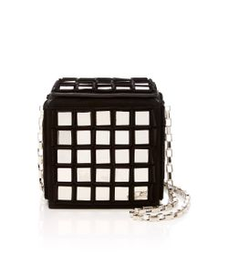 Tomasini | Stanley Embellished Suede Square Clutch