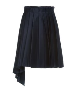 Dice Kayek | Pleated Mini Skirt