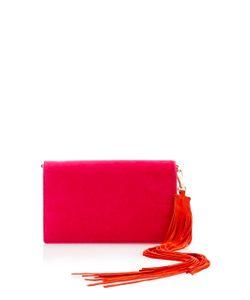 Diane von Furstenberg | Soiree Velvet Shoulder Bag