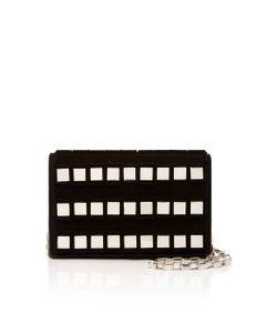 Tomasini | Ross Embellished Suede Shoulder Bag