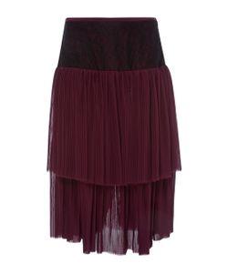 Prabal Gurung | Tie Pleat Midi Skirt