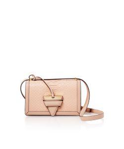 Loewe   Barcelona Python Shoulder Bag