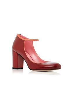 Paule Ka | Leather Mary Jane Pump