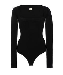 Khaite | Alexia Square Neck Bodysuit