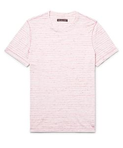 Michael Kors | Slim-Fit Space-Dyed Knitted Cotton T-Shirt