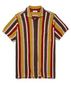 Cmmn Swdn | Crocheted Striped Cotton Cardigan