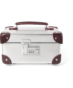 Globe-Trotter   Ekocycletrade Leather-Trimmed Aluminium Watch Case