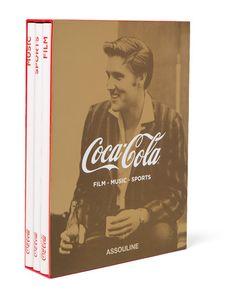 Assouline | Set Of 3 Hardcover Books Coca-Cola Film Music And