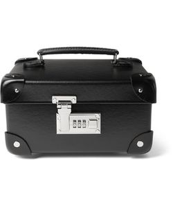 Globe-Trotter   Croc-Effect Leather-Trimmed Watch Case