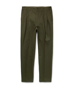 Casely-Hayford | Rowley Tapered Cotton-Twill Trousers