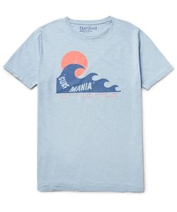 Hartford | Printed Slub Cotton-Jersey T-Shirt