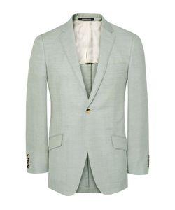 Richard James | Green Seishin Slim-Fit Wool Linen And Mohair-Blend Suit