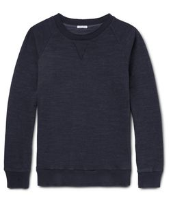 Blue Blue Japan | Indigo-Dyed Loopback Cotton-Jersey Sweatshirt