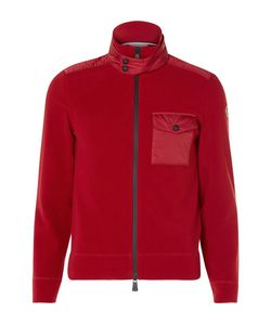 Moncler Grenoble | Hell-Trimmed Fleece Zip-Up Bae Layer