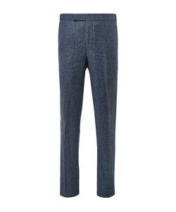Richard James | Slim-Fit Slub Wool And Linen-Blend Puppytooth Suit