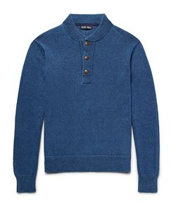 Alex Mill | Mélange Cotton Henley Sweater