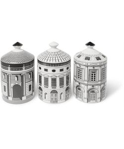 Fornasetti | Ordine Architettonico Scented Candle Set 3 X 300g
