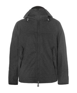Moncler Grenoble | Hell-Trimmed Fleece Mid-Layer Down Jacket
