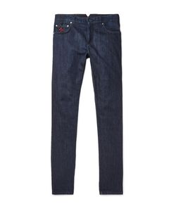 Isaia | Slim-Fit Selvedge Stretch-Denim Jeans