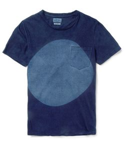 Blue Blue Japan | -Dyed Cotton-Jerey T-Hirt