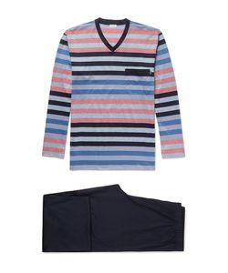 Zimmerli | Striped Cotton Pyjama Set