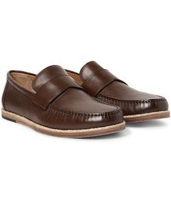 Ermenegildo Zegna | Biarritz Leather Loafers