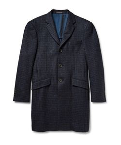 Richard James | Seishin Slim-Fit Houndstooth Wool-Blend Tweed Overcoat
