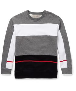 Casely-Hayford | Mayweather Colour-Block Cotton-Blend Sweatshirt