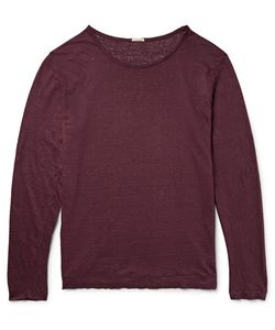 Massimo Alba   Slub Linen T-Shirt
