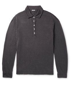 Massimo Alba   Linen-Piqué Polo Shirt