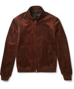 Tom Ford | Slim-Fit Suede Harrington Jacket