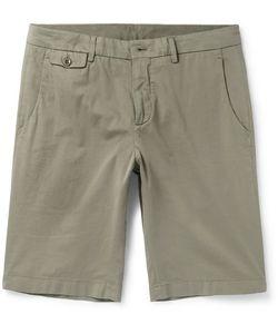 Loro Piana | Madison Washed Stretch-Cotton Shorts