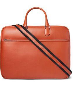 Valextra | Soft Avietta Pilotina Leather Briefcase
