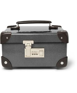 Globe-Trotter   Leather-Trimmed Watch Case