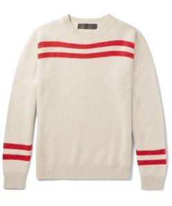 The Elder Statesman | Striped Cashmere Sweater