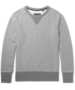 Rag & Bone | Mélange Loopback Cotton-Jersey Sweatshirt