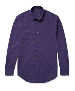 Lanvin | Slim-Fit Checked Cotton Shirt