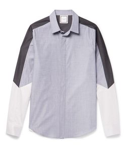 Wooyoungmi | Panelled Cotton Shirt