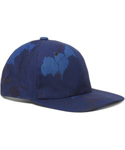 Blue Blue Japan | Indigo-Dyedprint Cotton-Canvas Baseball Cap