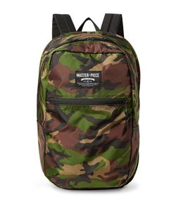 Master Piece | Master-Piece Pop N Pack Water-Resistant Nylon-Ripstop Backpack