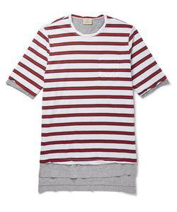 Wooster + Lardini | Laye Striped Cotton-Jersey T-Shirt