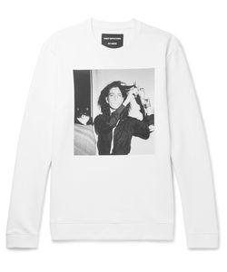 Raf Simons | Robert Mapplethorpe Foundation Printed Loopback Cotton-Jersey Sweatshirt