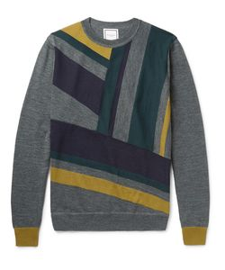 Wooyoungmi | Panelled Wool Sweater