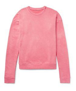 The Elder Statesman | Oversized Loopback Cotton-Jersey Sweatshirt
