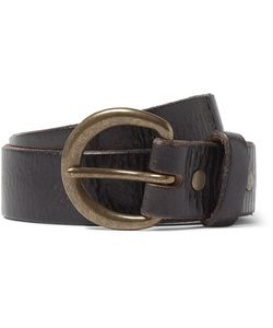 Rrl   4cm Terrance Distressed Leather Belt