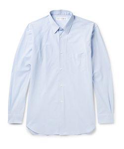 Comme Des Garçons | Shirt Striped Cotton-Poplin Shirt