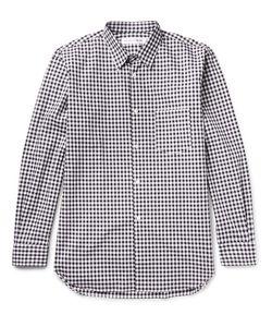 Comme Des Garçons | Shirt Gingham Cotton-Poplin Shirt