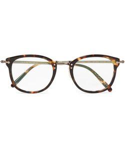 Oliver Peoples   Op-506 D-Frame Acetate And Burnishedtone Optical