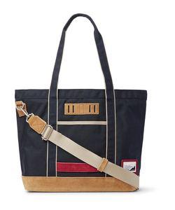 Master Piece | Master-Piece Suede-Trimmed Nylon Tote Bag