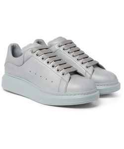 Alexander McQueen | Exaggerated-Sole Leather Sneakers